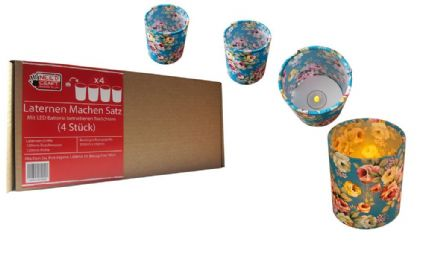 Lantern Making Satz  - 4 Pack